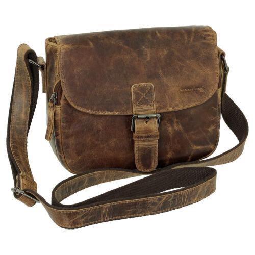 Schultertasche Luxus Umhängetasche Messenger Tasche Damen Braun 25 Leder Cm 1rgUnrt