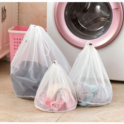Underwear Clothes Aid Bra Socks Laundry Washing Machine Net Mesh Laundry Bag AU