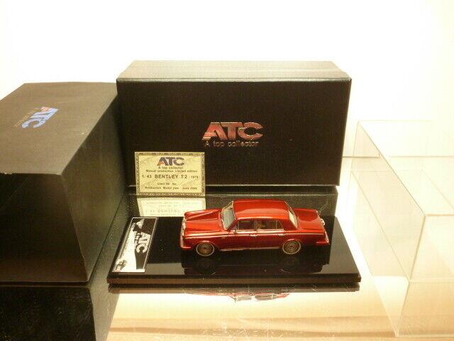 El mejor coleccionista de ATC, Bentley t2 1979 - - - pintura roja 1  43 - caja muy bien. c7e