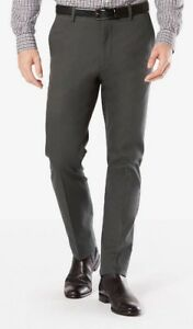 NWT-Men-039-s-Dockers-Signature-Khaki-Slim-Tapered-Fit-Stretch-Performance-4-Colors