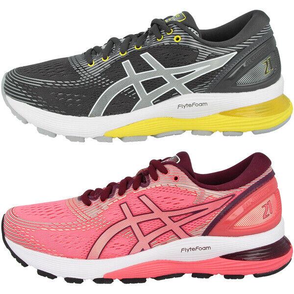 Asics gel-nimbus 21 mujer señora zapatillas running running running ocio cortos 1012a156 e22ab9