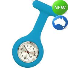 Nurse Silicone FOB Watch - Cyan (nursing | nurses)