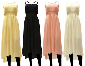 SALE-Chiffon-Evening-Pleated-Dress-Net-Size-8-12-For-Party-Cocktail-Prom