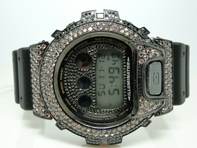 Casio G Shock Mens 6900 Jojo Joe Rodeo Black/Brown Simulated Diamond Watch