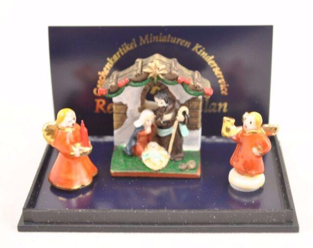 porcelain nativity set 1 892 8 miniature dollhouse 1 12 scale