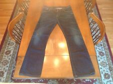 NUDIE JEANS CO for MEN SZ 33 X 34 100% ORGANIC COTTON