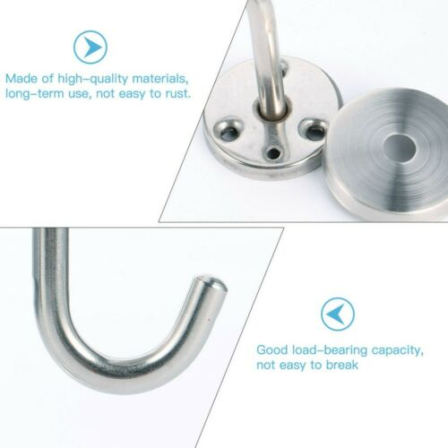 2 Pieces Ceiling Hanger For Bathroom Kitchen Cabinet Stainless Steel Hook