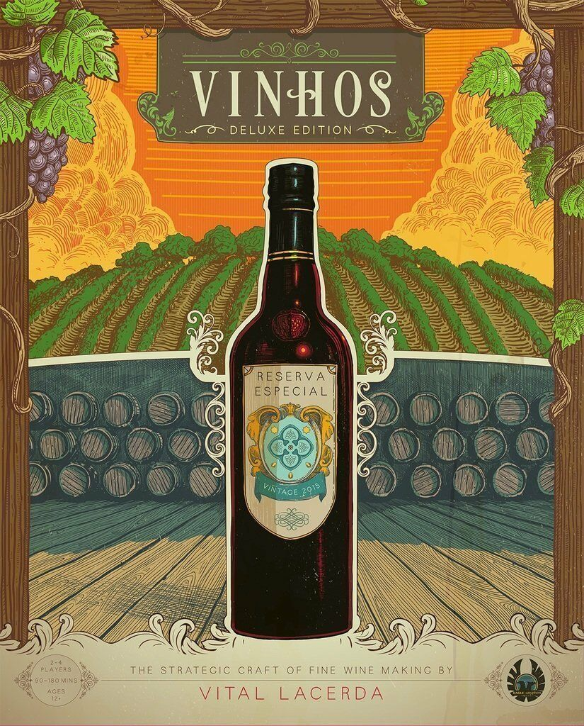 Vinhos: Deluxe Edition w/ All Stretch Goals