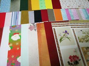 20 Sheets of A5 Assorted Mirri /& Glitter Card
