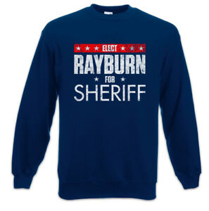 Bloodline Rayburn Poster Sweathirt Sheriff Wahlplakat Eletto Pullover For RwXw18