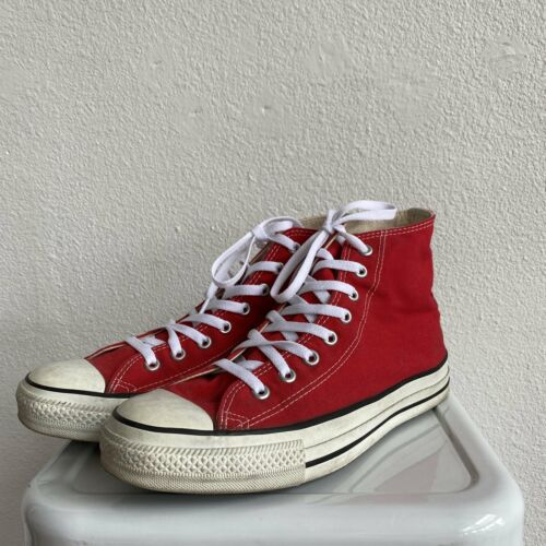 Vintage USA Made Converse All Star Red CLEAN - Siz