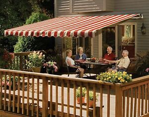 14' SunSetter VISTA Awning, Manual Retractable Outdoor ...