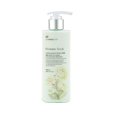 [THE FACE SHOP] Perfume Seed White Peony Body Milk - 300ml