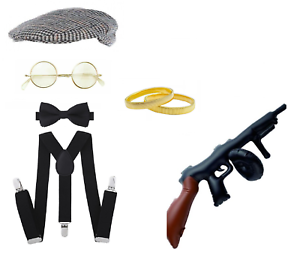Peaky Blinders 20/'s Tommy Shelby Fancy Dress Stag Night Costume Accessories Lot