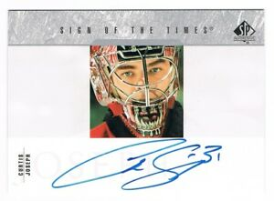 2003-04-SP-Authentic-Sign-of-the-Times-Autograph-Auto-SOT-CJ-Curtis-Joseph