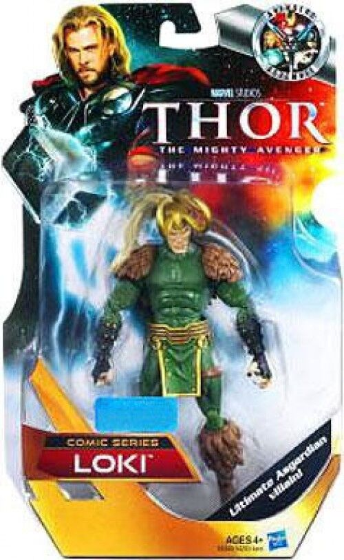 Thor The Mighty Avenger Comic Series Loki Exclusive azione cifra