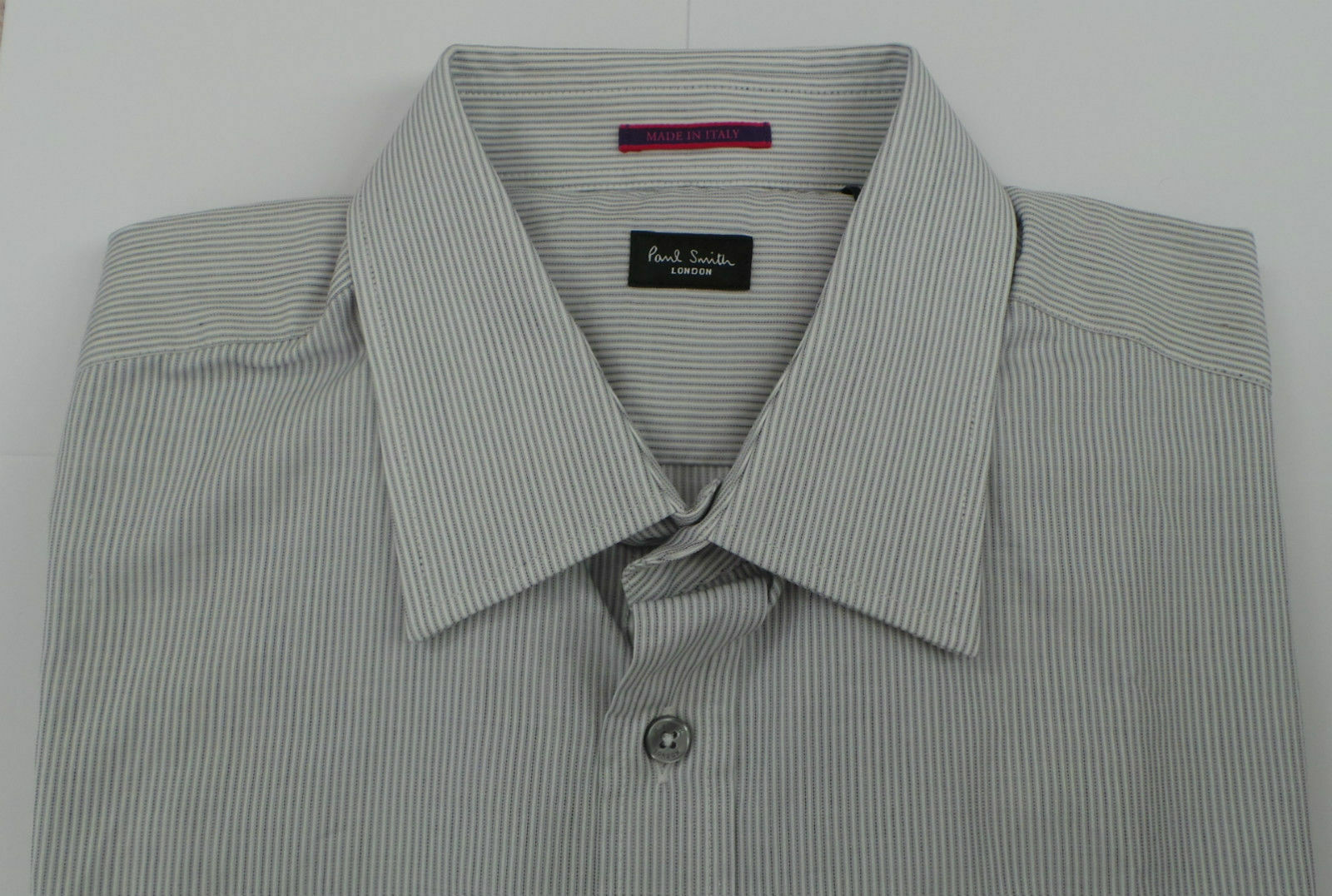 Paul Smith Camicia Taglia 16.5 strisce di grandi dimensioni