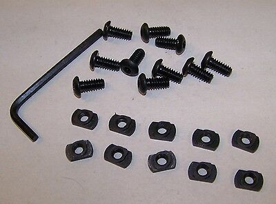 "LONGSHOT replacement Set of 12 KEYMOD /""T/"" Nuts Hardware KEYMOD Mounting Systems"