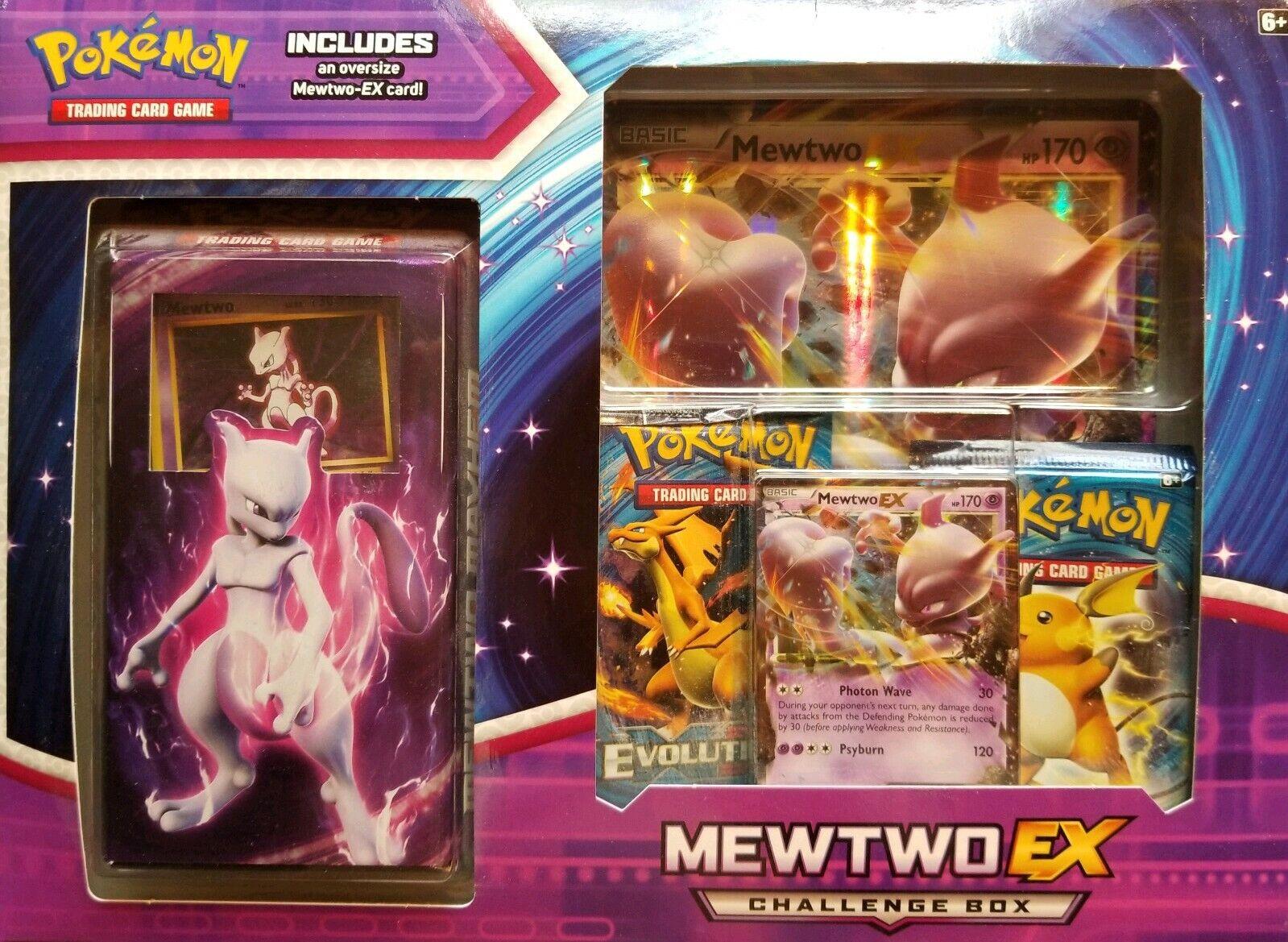 Pokémon TCG XY Evolutions Mewtwo EX Challenge Challenge
