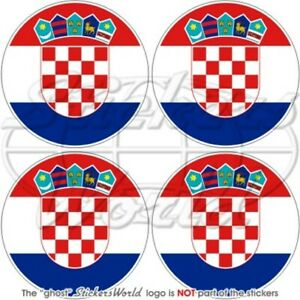 Croazia Croato Hrvatska, 50mm Vinile Adesivo X4 G9lfdjzd-07223844-256805576