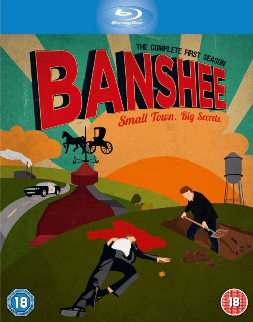 Banshee Complete Series 1 Blu Ray All Episode First Season Original UK NEW R2