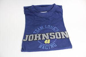 Vintage-2004-NASCAR-Jimmie-Johnson-48-TEAM-LOWE-039-S-Racing-Size-Medium