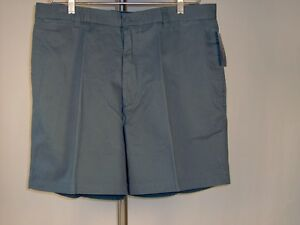 Best-Club-Room-Men-Shorts-38-X-7-5-Chino-Petrol-Blue-Men-Macys-100-Cotton-New