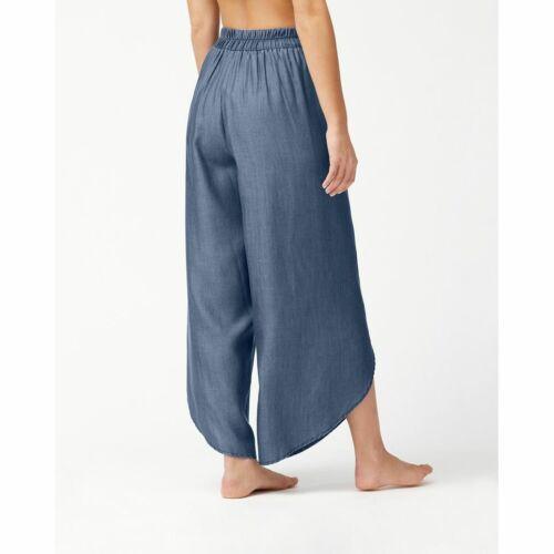 Chambray Wrap-Front Beach Pants XS/XP