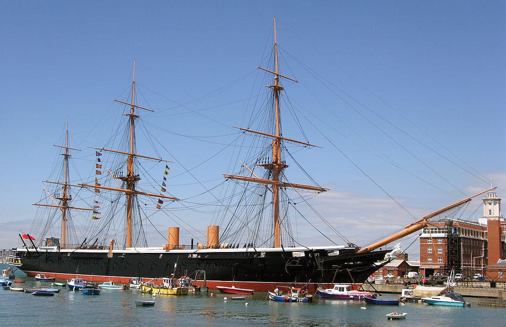 HMS Warrior. tanques barco. Reino Unido 1860 - - 1860 9279a1