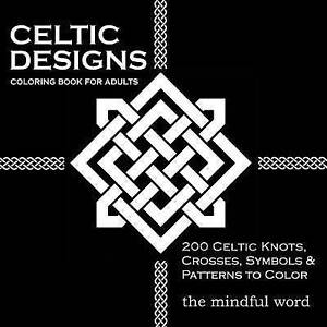 Image Is Loading Celtic Designs Coloring Book For Adults 200
