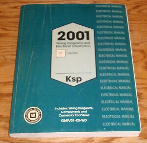 Original 2001 Cadillac DeVille Electrical Wiring Diagrams Manual 01   eBayeBay