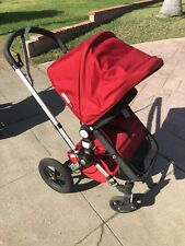 Nieuw Bugaboo Frog Red Travel System Single Seat Stroller for sale VS-94