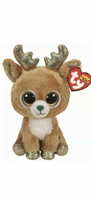 Ty Beanie Boos Glitzy The Christmas Reindeer 6 Inch 2018 Mwmt Walgreens For Sale Online Ebay