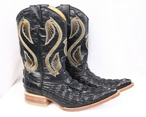 DONALDO Chihuahua Coco Black Leather Western Roper Cowgirl Cowboy ...