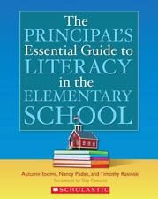 Principal's Essential Guide to Literacy in the Elementary School-ExLibrary