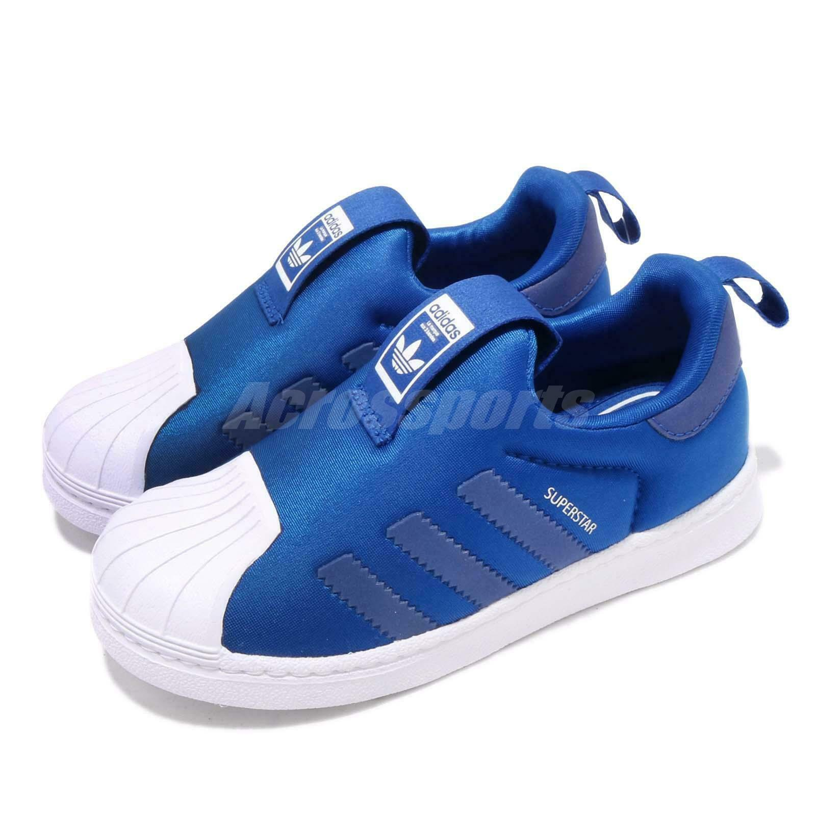 Adidas Originals Superstar 360 I bluee White  TD Toddler Infant Baby shoes CG6579  exclusive