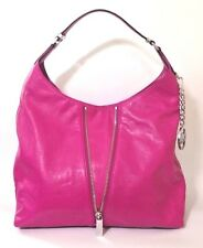 Michael Kors Newman Fuschia Leather Hobo Bag RRP £330.00