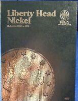 Whitman Liberty Head Nickel 1883-1912 Coin Folder, Album Book 9007