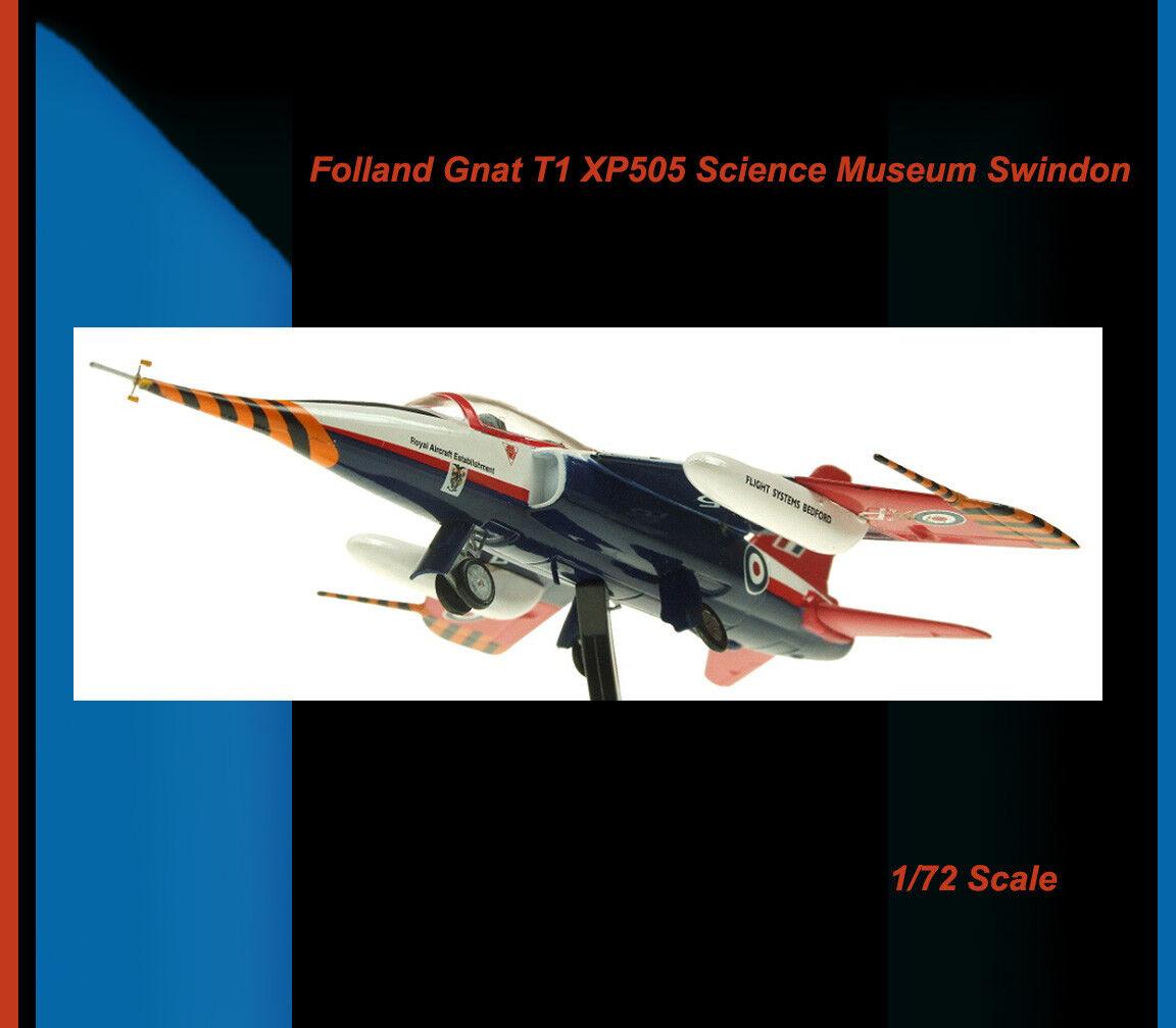 Aviation72 AV72 -22001 Folland Gnat T.Mk 1 RAF XP505 Trainer 1955 to 1979 Ltd