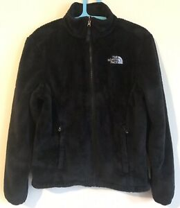 Polaire North Noir Petit Veste Osito Tnf Womens Fuzzy Face The Guc AXBW80ndd