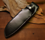 knife-blade-sheath-cover-scabbard-case-bag-cow-leather-customize-black-Z1001 thumbnail 1