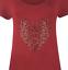 Plus-Size-Ladies-Short-Sleeve-Leopard-Print-Stud-Heart-Long-T-Shirt-Casual-Top thumbnail 19