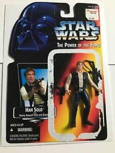 Star Wars Han Solo ~ The Power of the Force ~Red Card 1996 collection 1