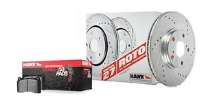 Disc-Brake-Pad-and-Rotor-Kit-LT-Front-Hawk-Perf-HK4119-706B