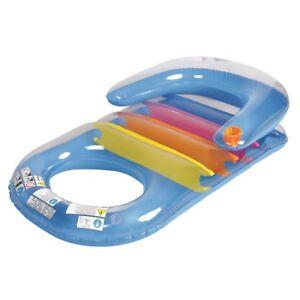 jilong pool sessel blue 150x86 schwimmsessel pool lounge luftmatratze badeinsel ebay. Black Bedroom Furniture Sets. Home Design Ideas