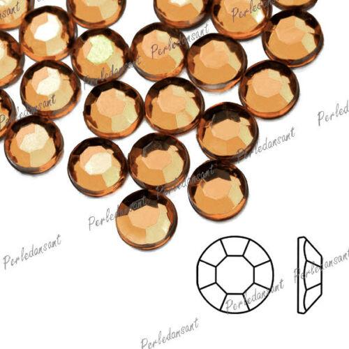 Approx 1000 Demi Perles Strass Acrylique Cristal Facette Ronde 20 Couleurs DIY