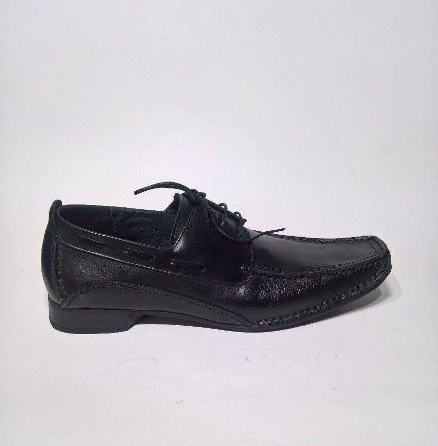 Para Hombre Vestido Negro Zota Con Cordones Zapatos