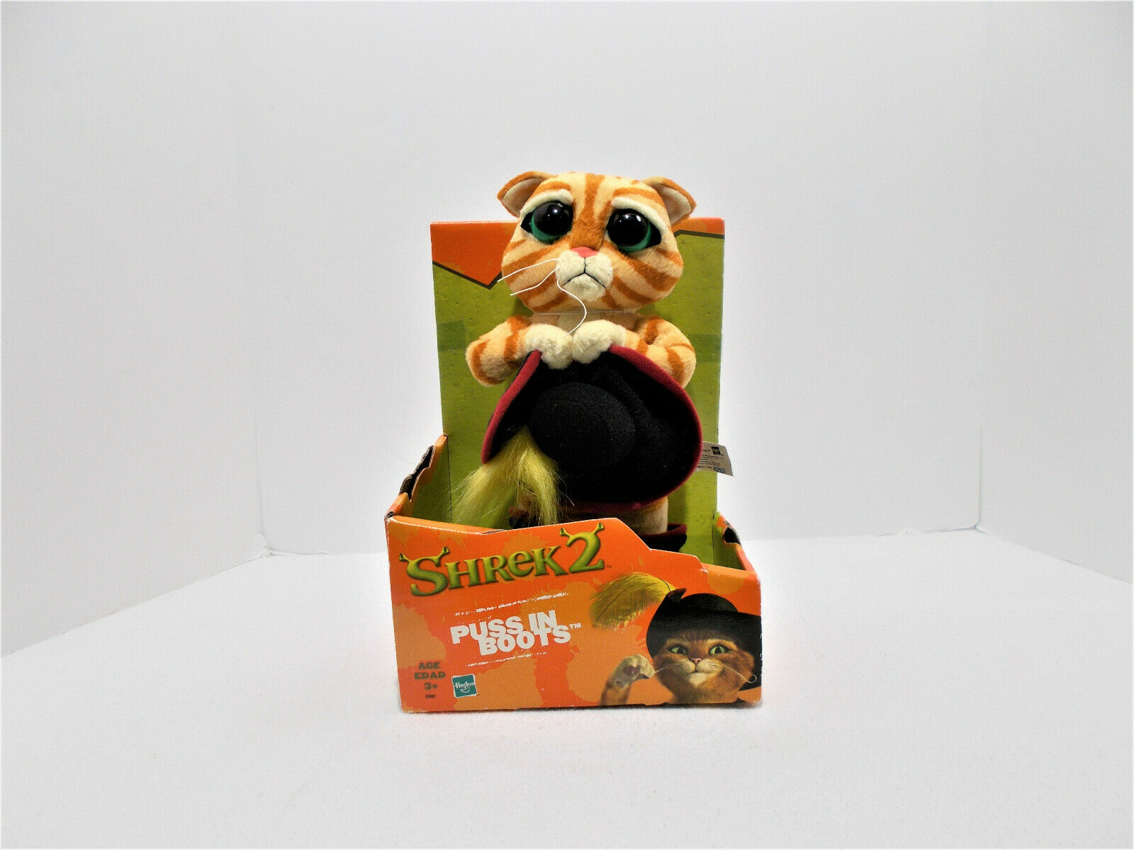 Steiff Tapsy Cat Puss In Boots And Scarf Childrens Soft Toy 113260 For Sale Online Ebay