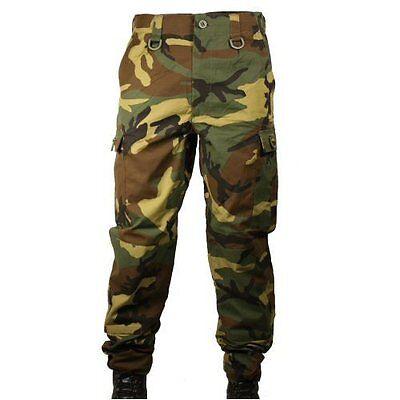 New Bulle Woodland Raid BDU Trousers Ripstop