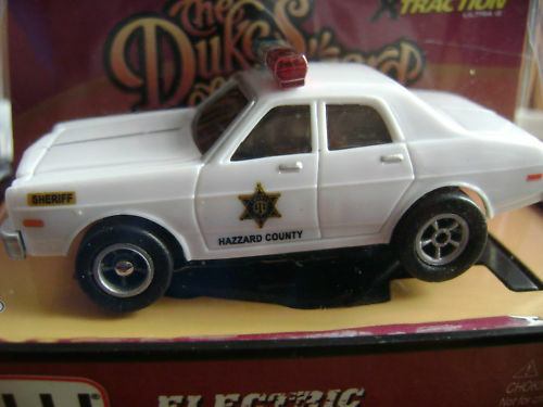 NOS SOLD OUT AW Dukes of Hazzard Roscoe Clean Police Car HO Slot Car Fits AFX